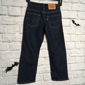 Levi's 511 Slim Stretch denim jeans boys size 6